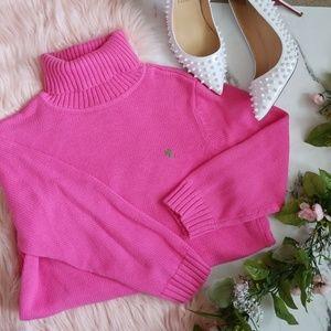 Lauren Ralph Lauren Pink Turtleneck Sweater